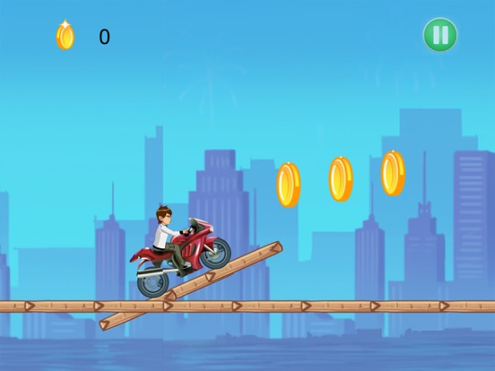 Ben Motorcycle Stunt Racing-ipad-1