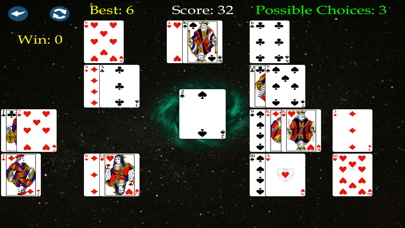 Black Hole Solitaire Premium screenshot two