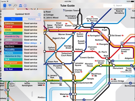 London Tube Map and Guide Скриншоты8