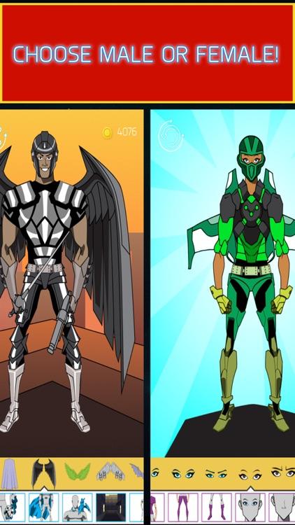 Create Your Own Superhero by Flowzio Studio