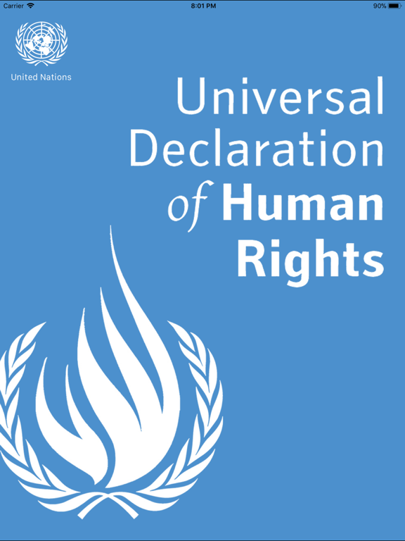 United Nations Declaration of Human Rights [UN] screenshot