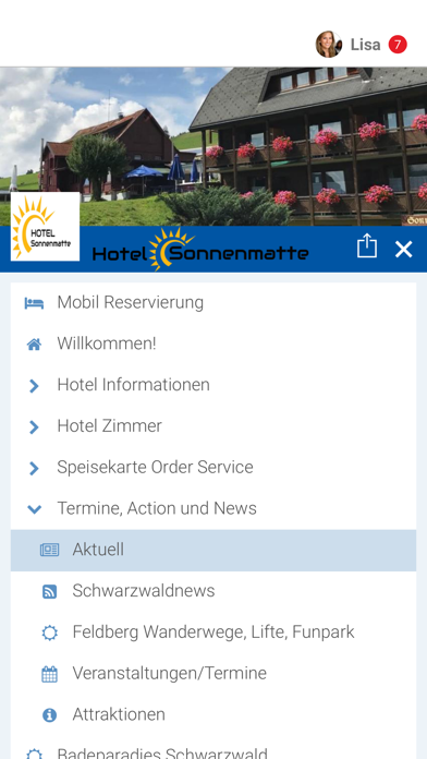Hotel Sonnenmatte screenshot 2
