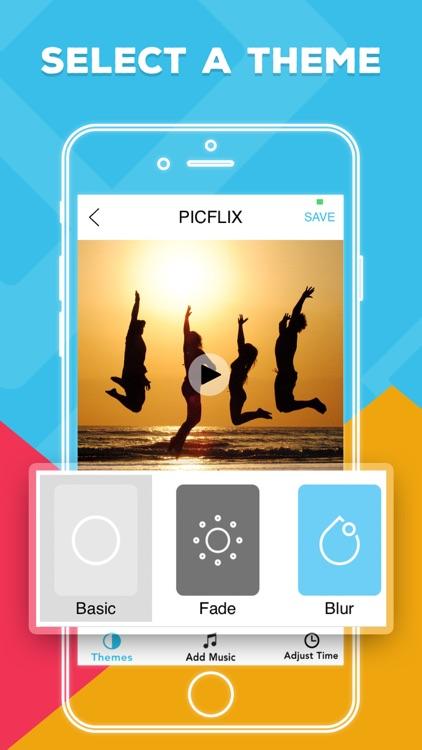 Picflix  Photo Slideshow Maker