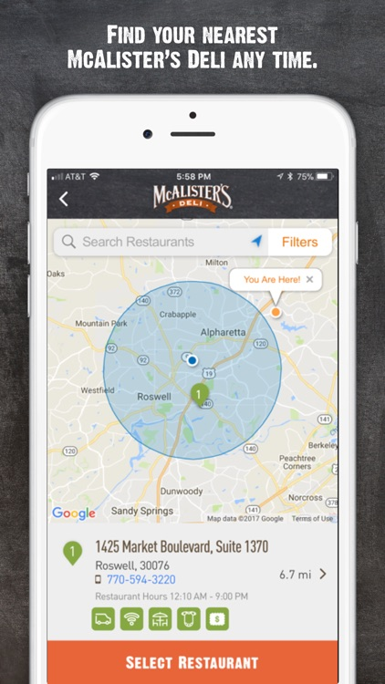 McAlisters Deli screenshot-2
