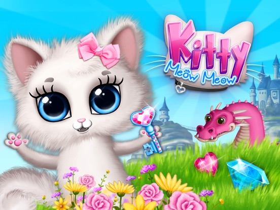 Kitty Meow Meow - No Ads на iPad