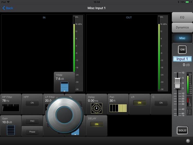 Soundcraft ViSi Remote screenshot-4