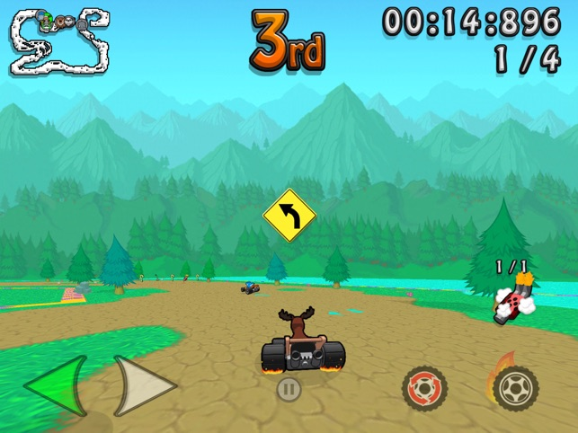 ‎Wacky Wheels HD Kart Racing Screenshot