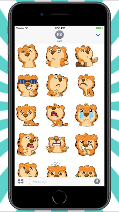 Screenshot for Tiger Felix Stickers in Colombia App Store