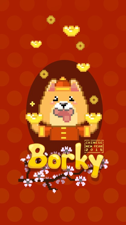 Chinese New Year Borky