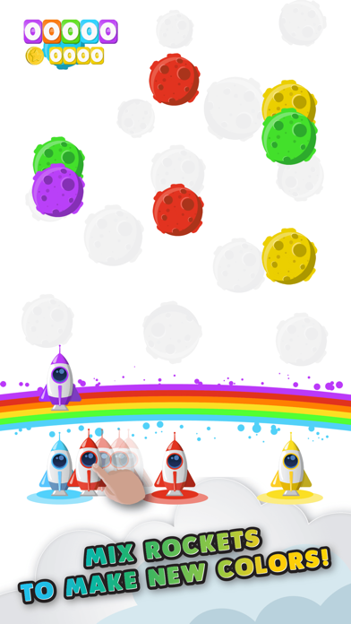 Rainbow Rocket screenshot two