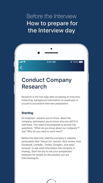 Job Interview Coach screenshot-4