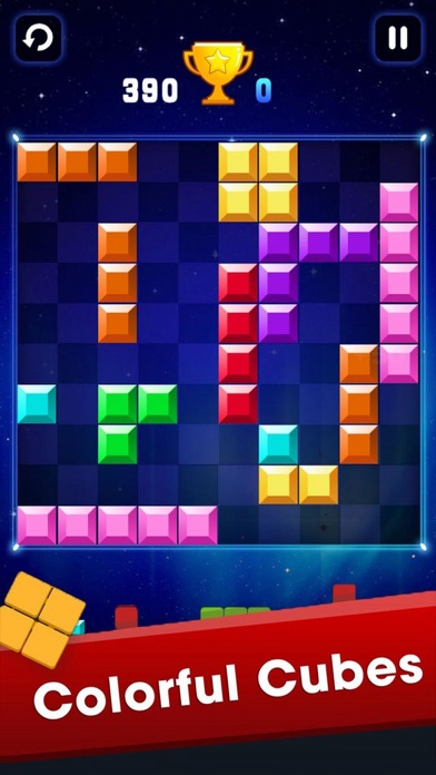 Color Brick Move Up Plus screenshot one