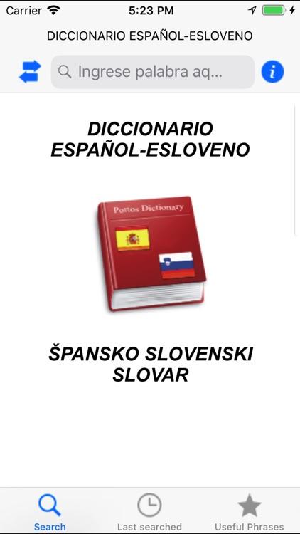 Diccionario Español Esloveno