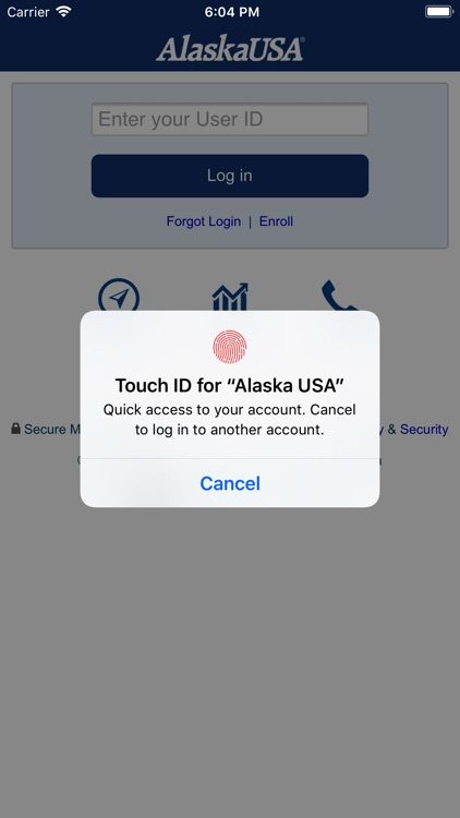 AlaskaUSA Federal Credit Union screenshot-0