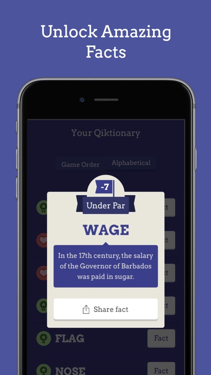 Qiktionary – The 4-letter Game