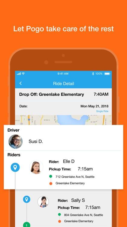 Pogo - Trusted Carpool Rides screenshot-4