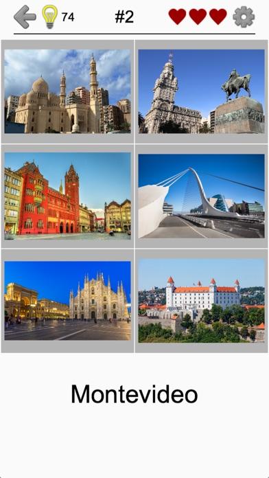 Cities of the World Photo-Quiz Screenshot on iOS