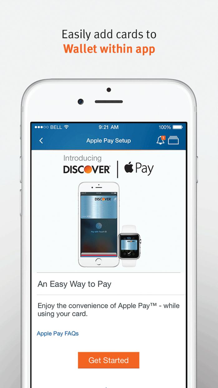 Discover Mobile Screenshot