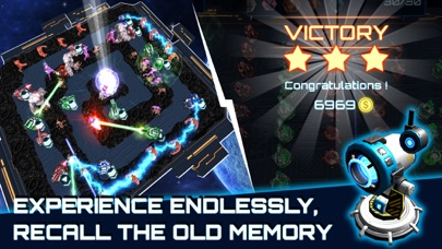 Alien Demons TD: Battle of Humans in Galaxy War Screenshot 5