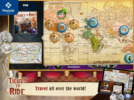 Ticket to Ride for PlayLink screenshot 9