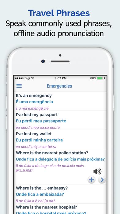 Portuguese Dictionary + screenshot four