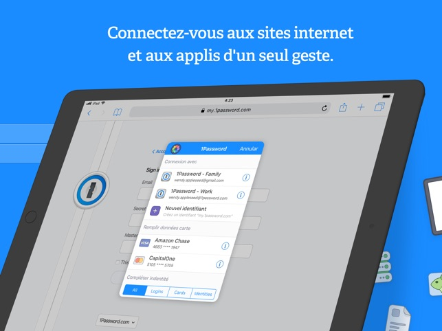 1Password - Password Manager Capture d'écran