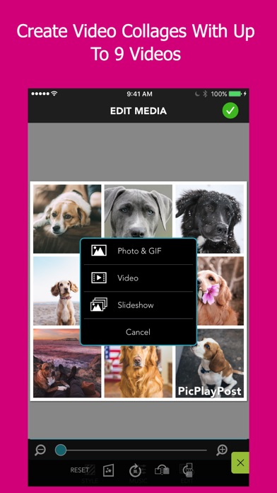 Download PicPlayPost Movie Video Editor for Pc