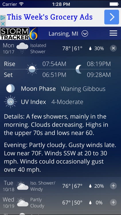 StormTracker 6 - Weather First screenshot-3