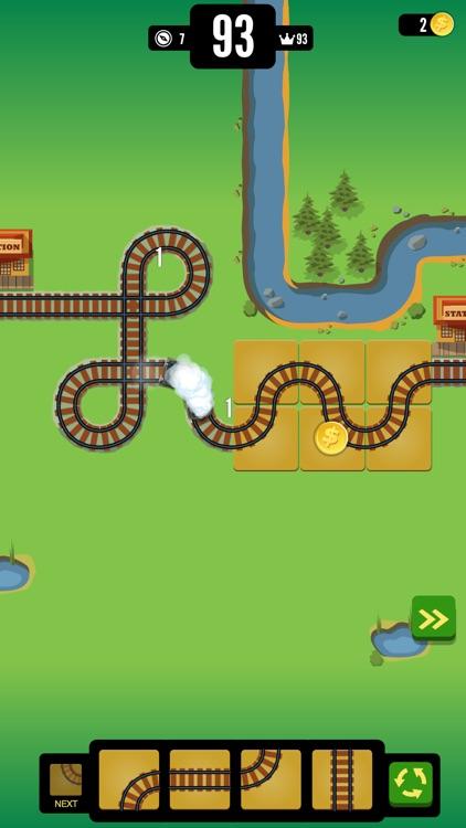 Gold Train FRVR - Railway Maze screenshot-3