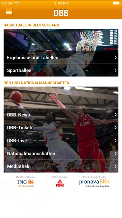 Screenshot for DBB in Germany App Store