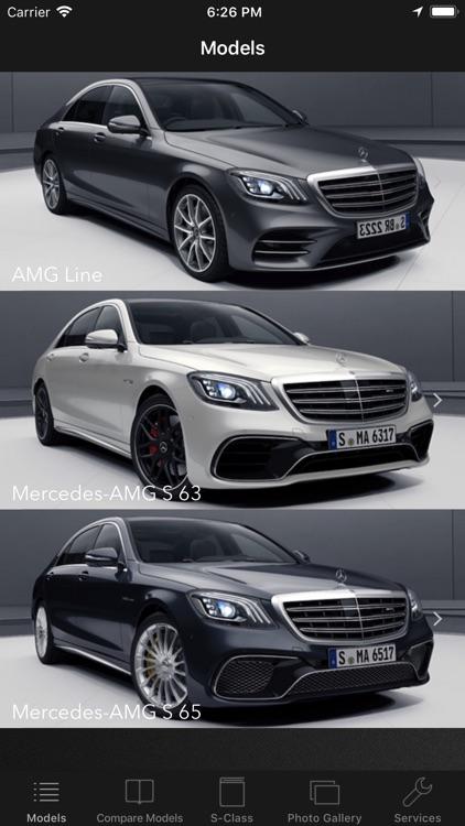 CarSpecs MBZ S-Class W222 2017
