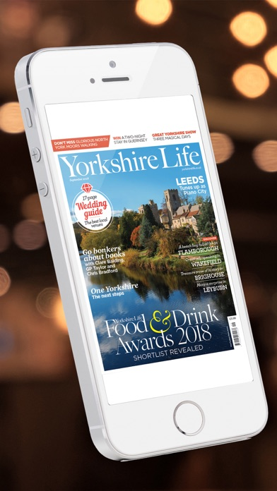 Yorkshire Life Magazine screenshot one