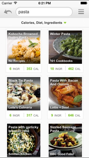 Recipes and nutrition on the app store screenshots forumfinder Gallery