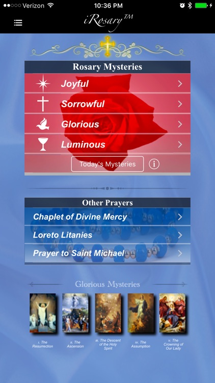 iRosary (Catholic Rosary) screenshot-4