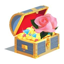 Rose Treasure Stickers Pack