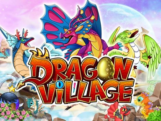 Dragon Village - Dragons Fighting City Builder games screenshot