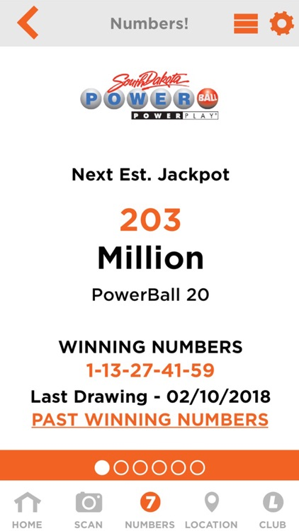SD Lottery Official App