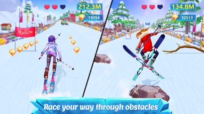 Screenshots of Ski Girl Superstar for iPhone