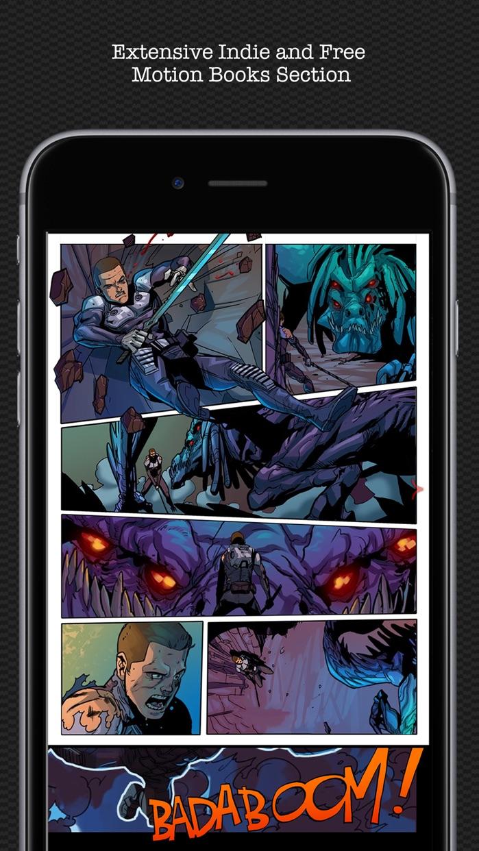 Madefire Comics & Motion Books Screenshot