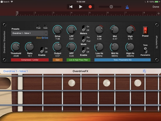 Overdrive AUv3 Plugin screenshot 6