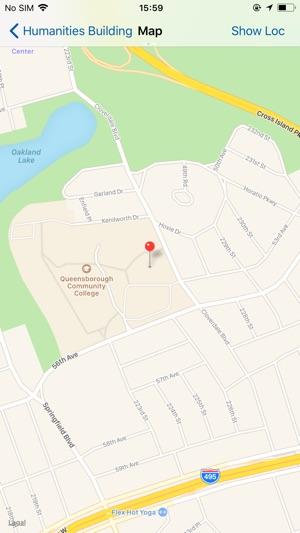 on queensborough community college map