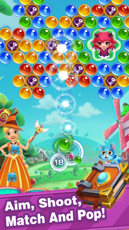 Bubble Shooter-New Pop Bubbles screenshot-3