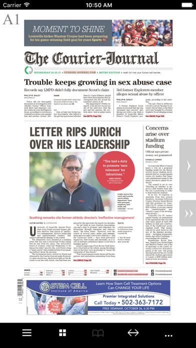 Courier Journal Print Screenshot