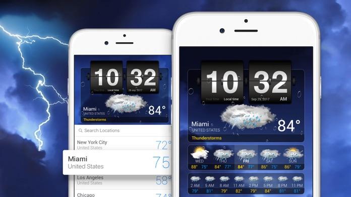 Weather⁺ Screenshot