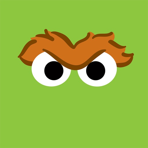 Oscar the Grouch Stickers