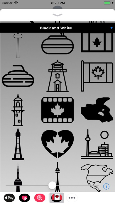 download Stickers of Canada apps 1