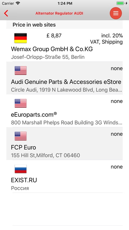 AutoParts  Audi A6 screenshot-3