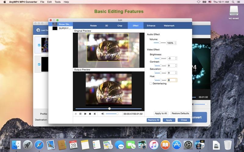 Screenshot #4 for AnyMP4 MP4 Converter