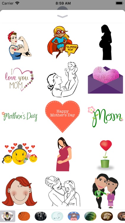 Mom Stickers - 2018