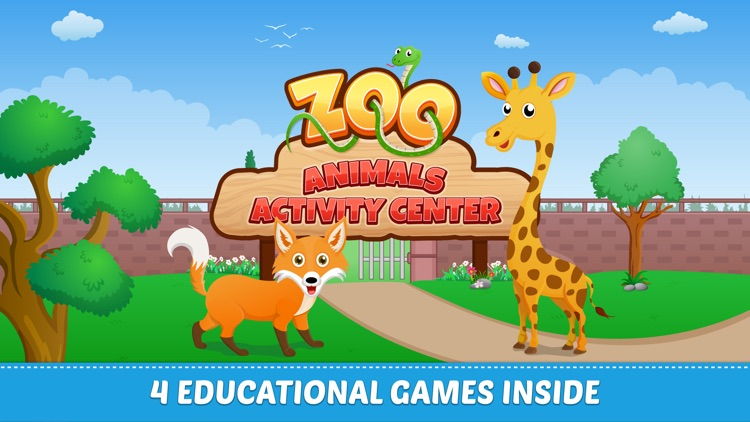 Zoo Animals For Toddlers screenshot-0